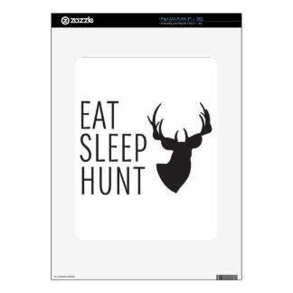 Eat Sleep Hunt Skin For iPad