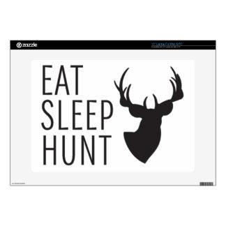 Eat Sleep Hunt Skin For Laptop