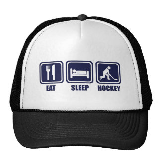 Eat Sleep Ice Hockey Repeat T Shirt Trucker Hat