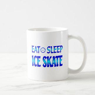 Eat Sleep Ice Skate Coffee Mug