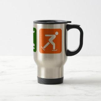 Eat Sleep Ice Skating Coffee Mugs