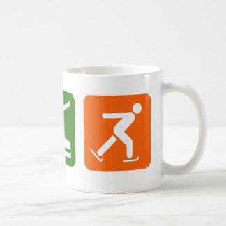 Eat Sleep Ice Skating Mug