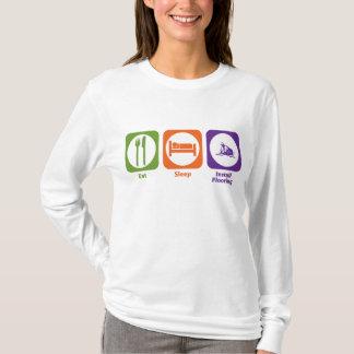 Eat Sleep Install Flooring T-Shirt