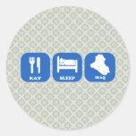 Eat Sleep Iraq Sticker