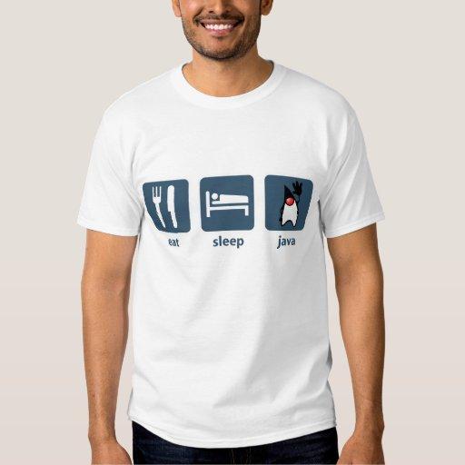 Eat Sleep Java T-shirts