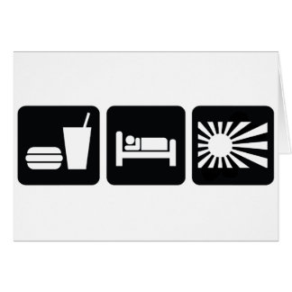 Eat Sleep JDM Card