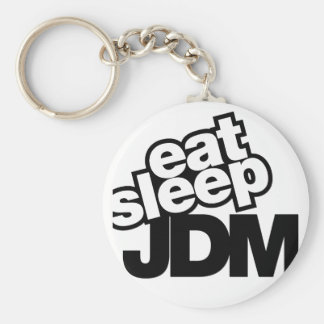 eat sleep JDM Keychain