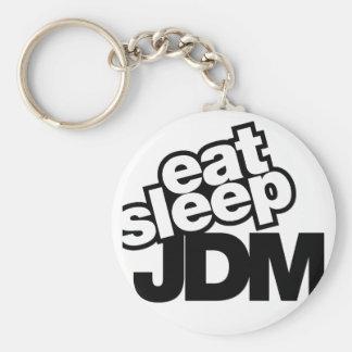 eat sleep JDM Keychain