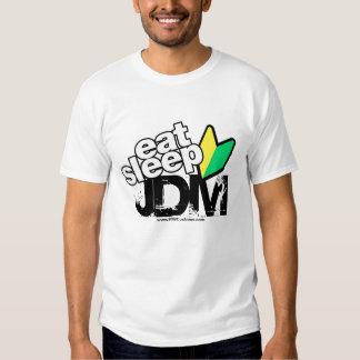 Eat Sleep JDM (Light) Tshirt