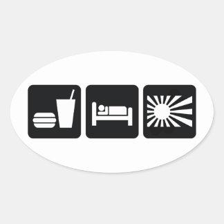 Eat Sleep JDM Stickers
