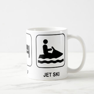 Eat Sleep Jet Ski Coffee Mug