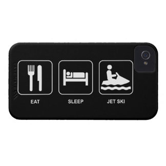 Eat Sleep Jet Ski iPhone 4 Case-Mate Case