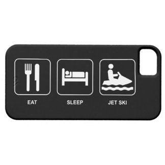 Eat Sleep Jet Ski iPhone SE/5/5s Case