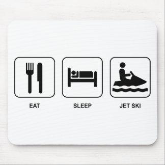 Eat Sleep Jet Ski Mouse Pad