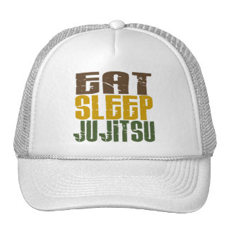Eat Sleep Ju Jitsu 1 Trucker Hat