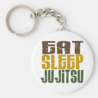 Eat Sleep Ju Jitsu 1 Keychain