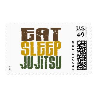 Eat Sleep Ju Jitsu 1 Postage