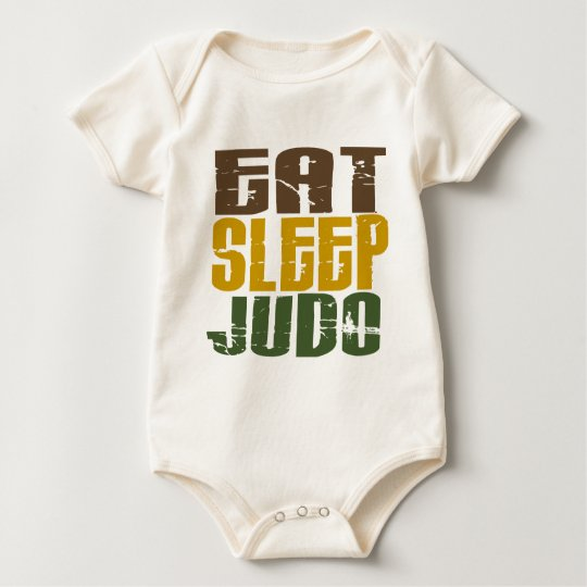 Eat Sleep Judo 1 Baby Bodysuit