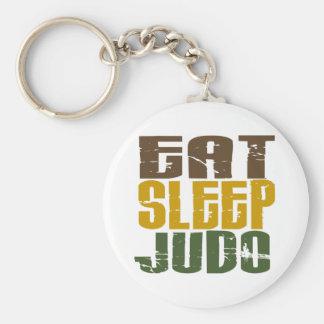 Eat Sleep Judo 1 Keychain