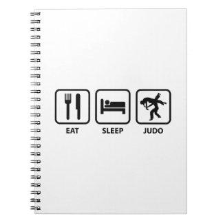 Eat Sleep Judo Notebook