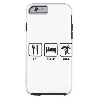 Eat Sleep Judo Tough iPhone 6 Case