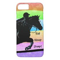 Eat, Sleep, Jump Horse iPhone 8/7 Case