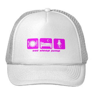 eat sleep jump rope trucker hat