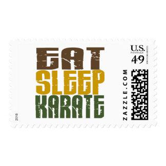 Eat Sleep Karate 1 Postage
