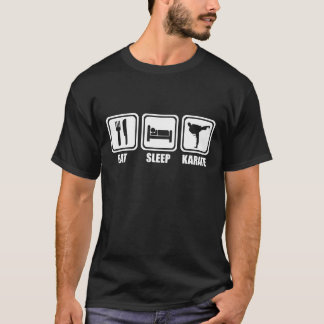 Eat Sleep Karate T Shirt