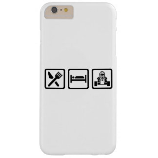 Eat sleep Kart Barely There iPhone 6 Plus Case