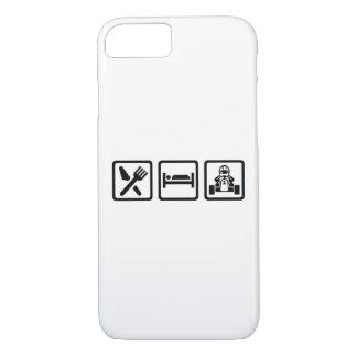 Eat sleep Kart iPhone 8/7 Case