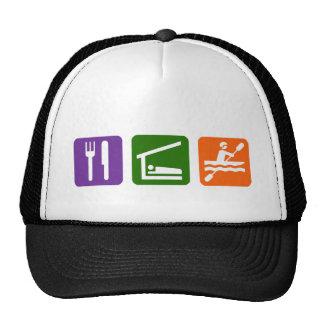 Eat Sleep Kayaking Trucker Hat