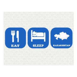 Eat Sleep Kazakhstan Postcards