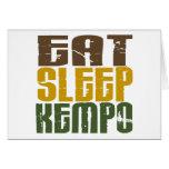 Eat Sleep Kempo 1 Cards