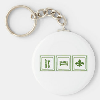 Eat Sleep... Keychain