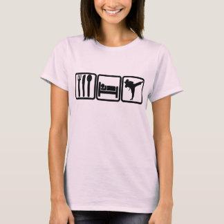 EAT - SLEEP - KICK BUTT T-Shirt