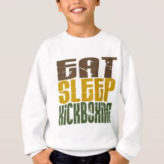 Eat Sleep Kickboxing 1 Sweatshirt