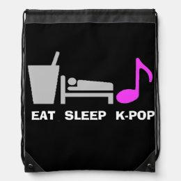 Eat Sleep Kpop Bag (dark)