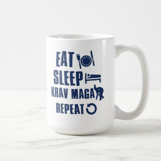 Eat Sleep Krav maga Coffee Mug