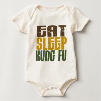 Eat Sleep Kung Fu 1 Baby Bodysuit
