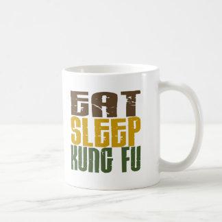 Eat Sleep Kung Fu 1 Classic White Coffee Mug