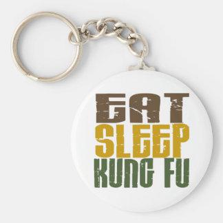 Eat Sleep Kung Fu 1 Keychain