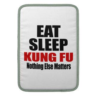 EAT SLEEP KUNG FU MacBook AIR SLEEVE