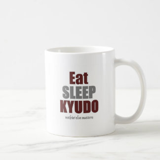 Eat sleep Kyudo.jpg Coffee Mug