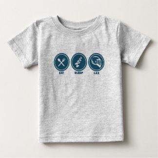 Eat Sleep Lacrosse Baby Shirt