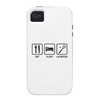 Eat Sleep Lacrosse iPhone 4/4S Case