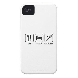 Eat Sleep Lacrosse iPhone 4 Case-Mate Case