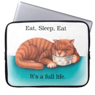 Eat Sleep Lap Top Bag