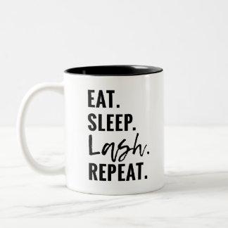 Eat. Sleep. Lash. Repeat MUG