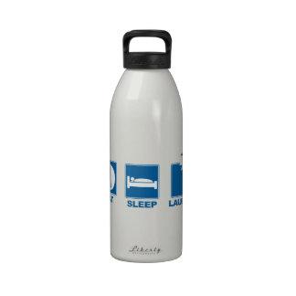 Eat Sleep Launch Drinking Bottle